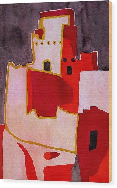 Mesa Verde Original Painting Sold Wood Print
