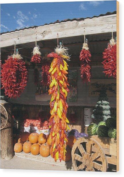 Mesilla Valley Harvest Wood Print