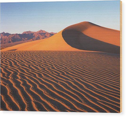 Mesquite Dunes 1 Wood Print