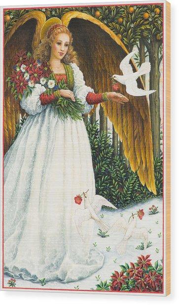 Messengers Of Peace Wood Print
