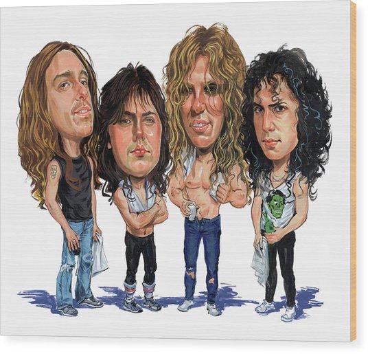 Metallica Wood Print