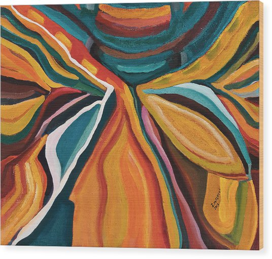 Metamorph Wood Print