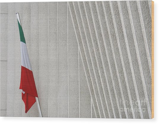 Mexican Embassy In Berlin Wood Print