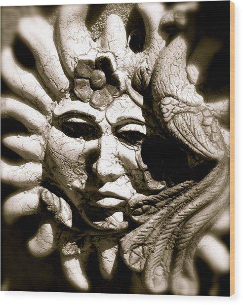 Mexican Sun Wood Print