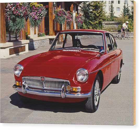 Mgb In Whistler Wood Print
