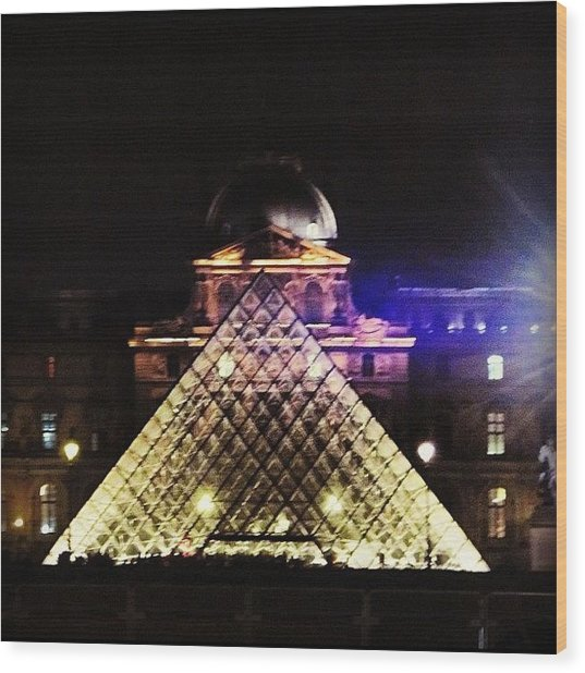 #mgmarts #louvre #paris #france #europe Wood Print