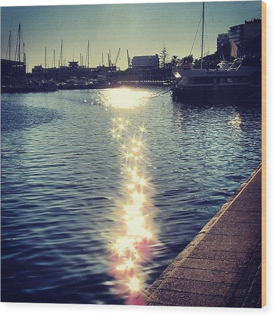 #mgmarts #spain #alicante #sea #seaside Wood Print