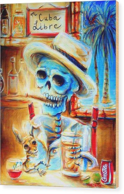 Mi Cuba Libre Wood Print