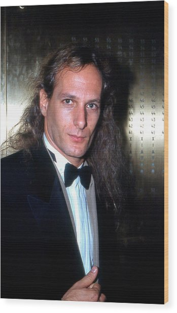 Michael Bolton 1990 Wood Print