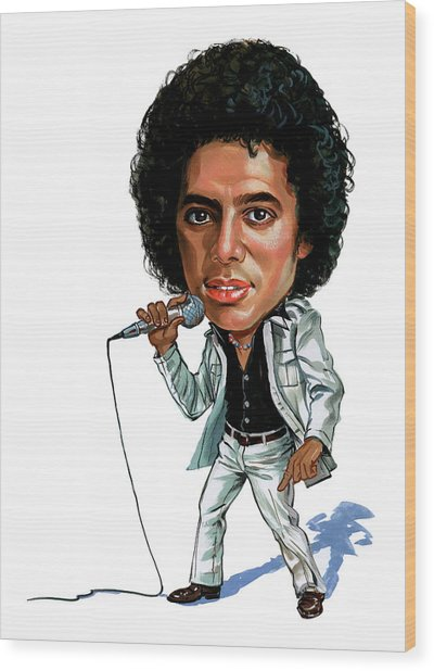 Michael Jackson Wood Print by Art