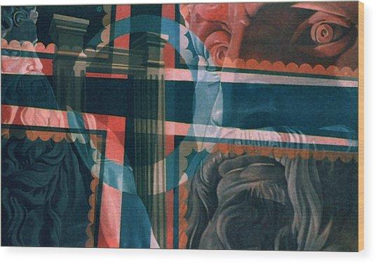 Michaelangelo's Moses 1967 Wood Print by Glenn Bautista