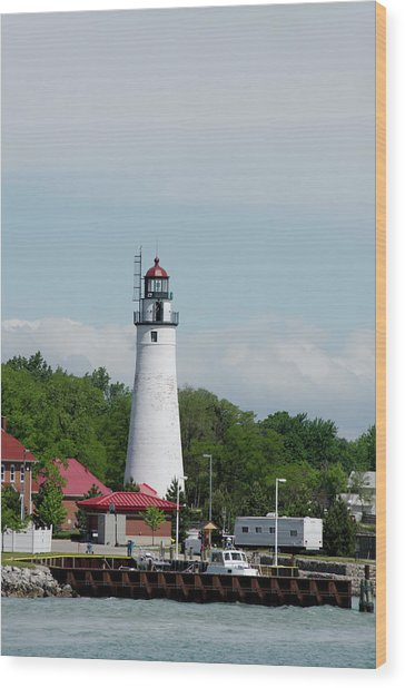 Michigan, Port Huron, St Wood Print