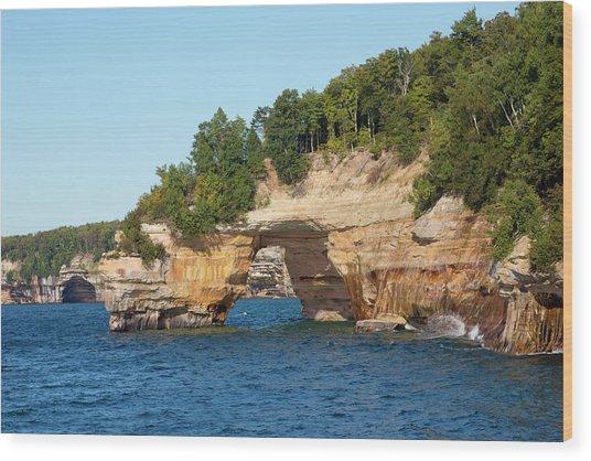 Michigan, Upper Peninsula, Pictured Wood Print
