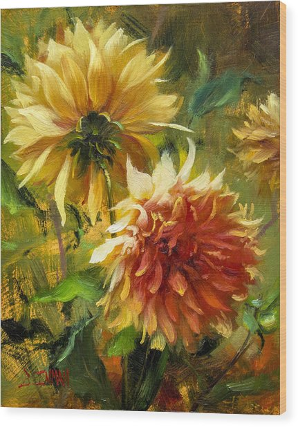 Midas Touch Wood Print by Bill Inman