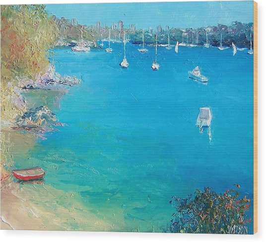 Middle Harbour Sydney Wood Print