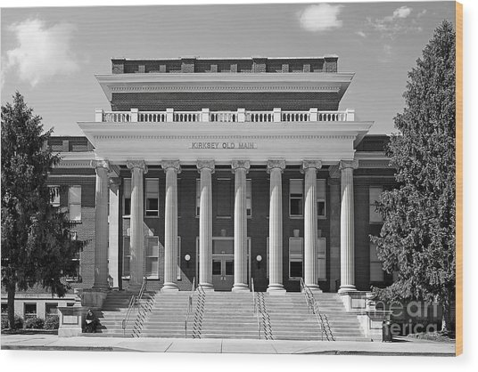 Middle Tennessee State Kirksey Old Main Wood Print
