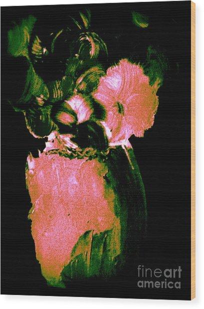 Midnight Visit Wood Print