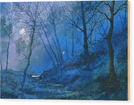 Midsummer Night's Dream Wood Print