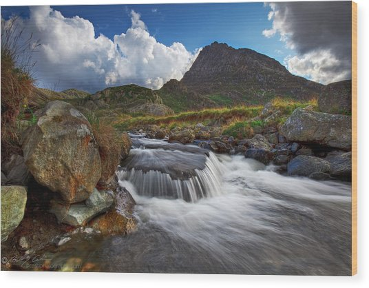 Mighty Tryfan  Wood Print