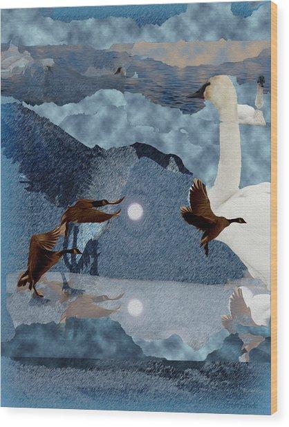 Migrations Wood Print