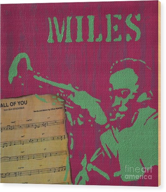 Miles Wood Print
