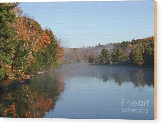 Mill Lake Thanksgiving Weekend II Wood Print