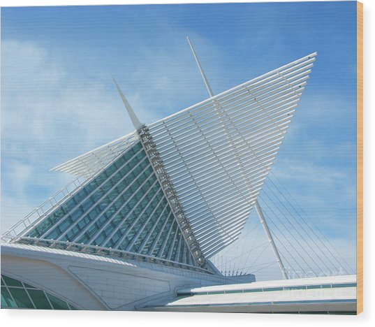 Milwaukee Art Museum Wood Print