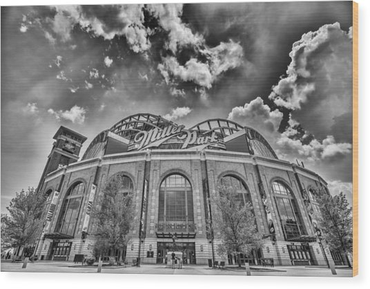 Milwaukee Brewers Miller Park 7 Wood Print