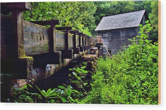 Mingus Mill Wood Print