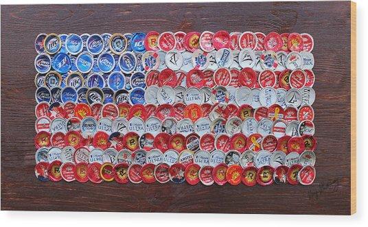 Mini Glory Wood Print by Kay Galloway