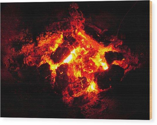 Mini-hell Wood Print