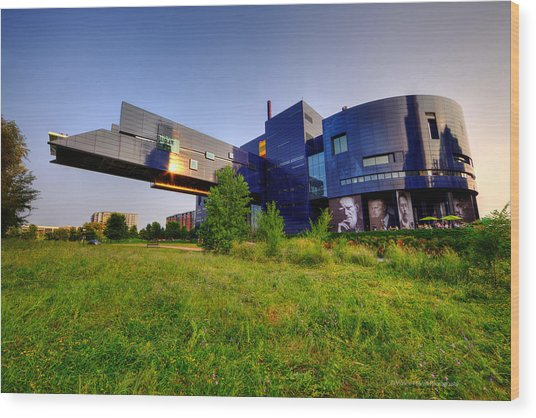 Minneapolis Guthrie Theater Summer Evening Wood Print