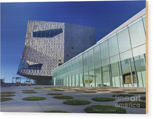 Minneapolis Skyline Photography Walker Art Museum Wood Print