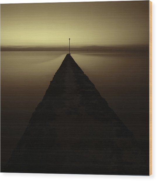 Minnis Bay Tranquility Wood Print