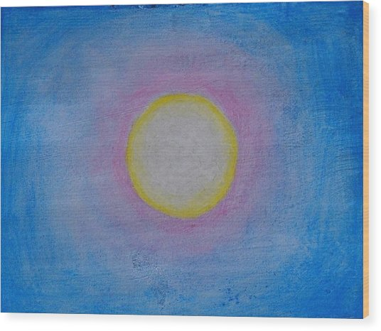 Miracle Of The Sun Wood Print by Darcie Cristello