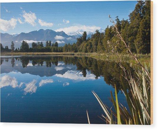 Mirror Landscapes Wood Print