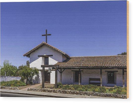 Mission San Francisco Solano Wood Print