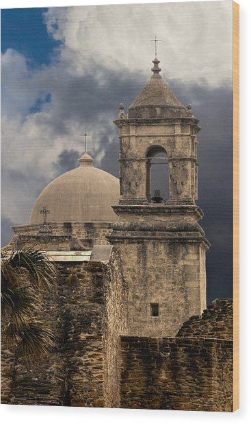 Mission San Jose II Wood Print