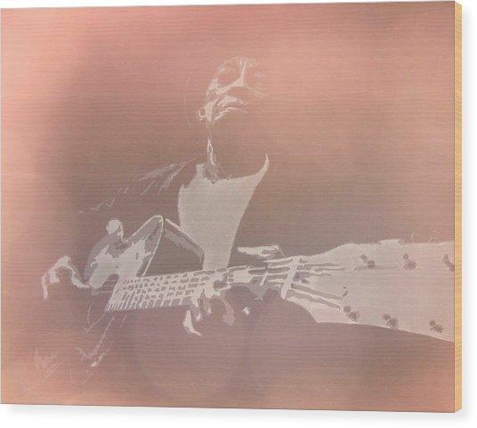 Mississippi John Hurt 2 Wood Print