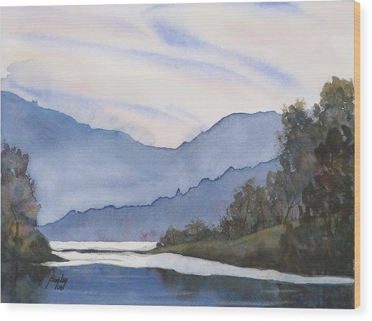 Misty Lake: Misty Lake Painting By James S Bagley