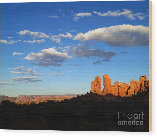 Wood Print featuring the photograph Moab by Kate Avery