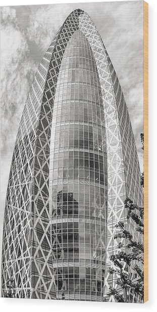 Mode Gakuen Cocoon Tower Wood Print