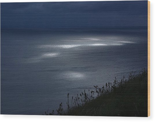 Moher Light Dance Wood Print