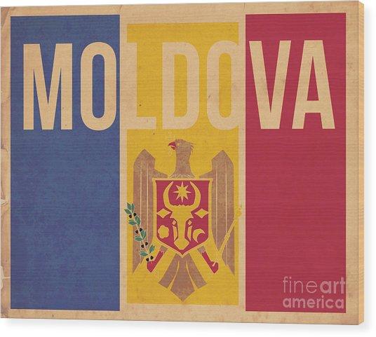 Moldova Wood Print by Megan