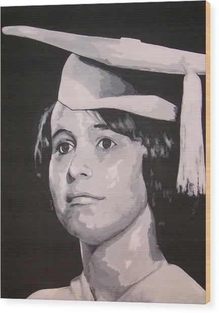 mom Wood Print
