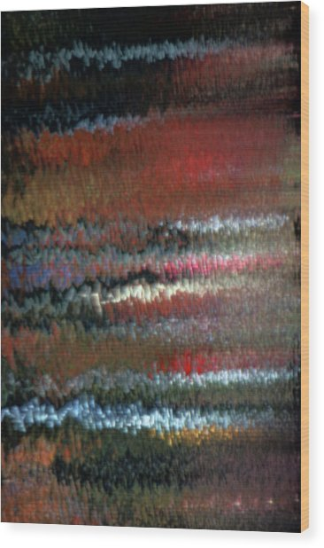 Mon Hommage A Rothko Wood Print