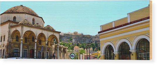 Monastiraki - Athens Wood Print