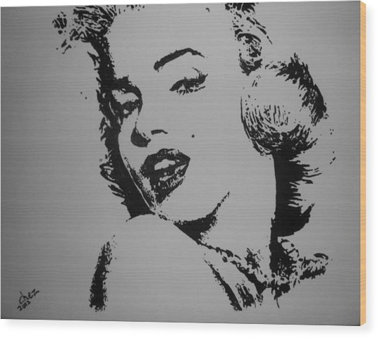 Monroe Wood Print