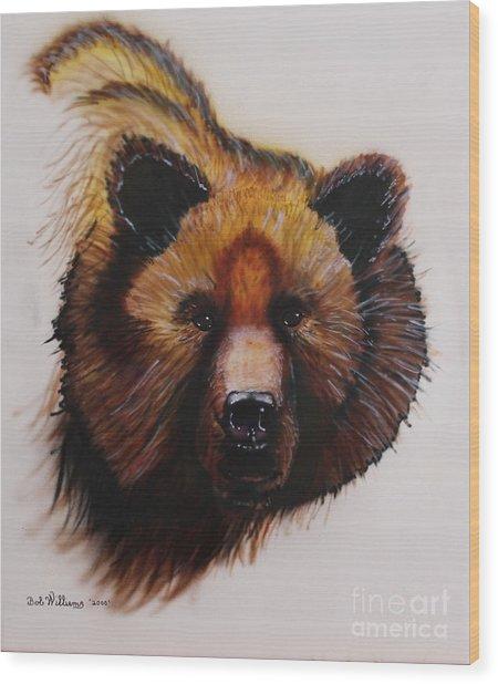 Montana Monarch Wood Print