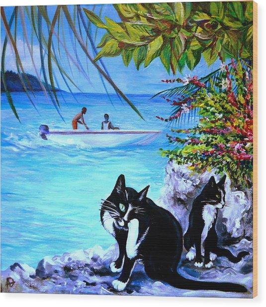 Montego Bay. Part One Wood Print